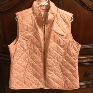 Old Navy Women's Rose Pink Puffer Vest